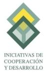 Iniciativas de Cooperación y Desarrollo Logo